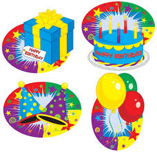 happy birthday cutouts 4 pkg partycheap