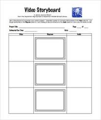 storyboard template for film story by graphicsauthor graphics