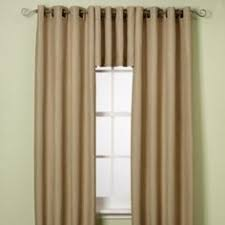 Alton Solid Grommet Window Curtain Panel Alton Solid Grommet Window Curtain Panels In White For The Inner