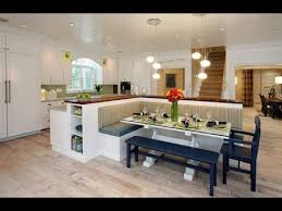 home design ideas kitchen eating area bench seating ideas youtube
