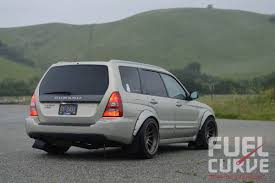 stanced subaru forester 2005 subaru forester xt sti for under 20k fuel curve