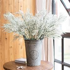 salotto sala da pranzo romantico emulational limonium nozze secchi disporre i fiori