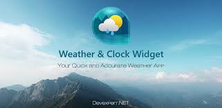 clock and weather widgets for android weather clock widget appstore for android