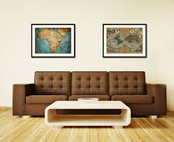 home decor gift items africa mapmaker vintage antique map wall art bedroom home decor