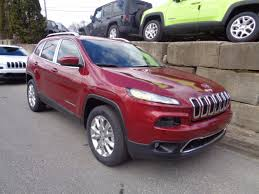 red jeep cherokee 2017 jeep cherokee limited 4x4 in deep cherry red crystal