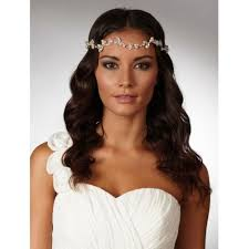 forehead bands bridal halo wedding browbands lace and favour