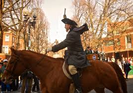 paul revere s ride book paul revere s ride re enacted in boston s end for 2013
