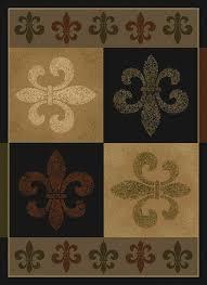 unthinkable fleur de lis kitchen rugs lovely latest rug ebay