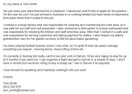 handyman cover letter 4 tips to write cover letter for