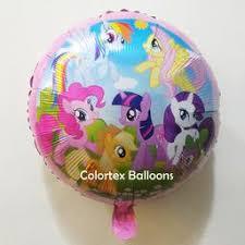 my pony balloons mylar balloons