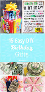 birthday gifts 15 easy diy birthday gifts tip junkie