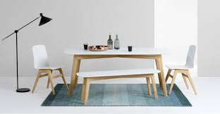 white dining table with bench white table pict ideas