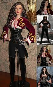 Van Helsing Halloween Costume Monica Star Dolls Princess Anna Valerious Van Helsing