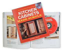 Kitchen Cabinets Made Simple Kitchen Cabinets Made Simple Book Dvd Set Valley Tools