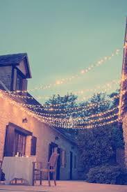 Patio String Lighting Ideas by Best 25 Outdoor Fairy Lights Ideas On Pinterest Garden Fairy