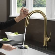 delta touch2o kitchen faucet touch sensor kitchen faucet delta essa touch2o technology single