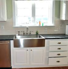 Kitchen Barn Sink Stainless Steel Farmers Sink White Undermount Kitchen Sinks Apron