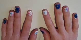 4th of july nail design nail art lab