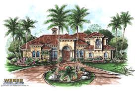 floor plan with perspective house venetian house plan weber design group naples fl