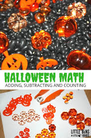 halloween math halloween sensory bin math and literacy activities for kids