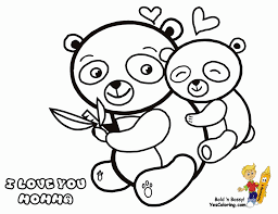 coloring pages panda coloring sheets pages for kids panda