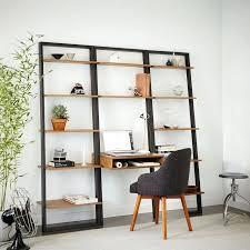 Best 25 Ladder Shelves Ideas by Desk Large Diy Desk With Storage Shelves Desk With Storage