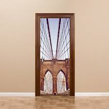 aliexpress com buy diy 3d new york brooklyn bridge wall stickers