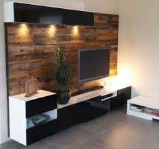 bestå media center with wood panels ikea hacks pinterest