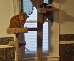 Instructables Cat Tree by Cat Sequoia