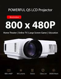 Lcd Q5 powerful q5 android 4 4 lcd projector us 88 97