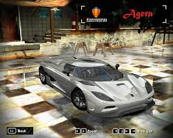 koenigsegg agera rx need for speed most wanted cars by koenigsegg nfscars