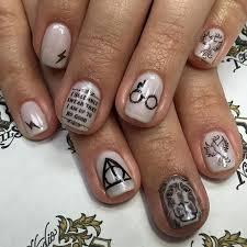 harry potter nails sola salons michigan nail salon nail art