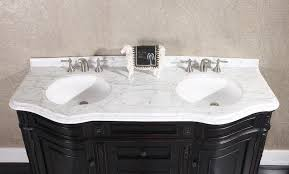 Granite Bathroom Vanity by Legion 68 Inch Double Sink Bathroom Vanity Wb2668l In Dark