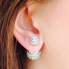 front and back earrings front back earrings pastal names back earring lamevallar