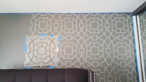 Trellis Wall Stencil Transform Your Bedroom From Drab To Dreamy With A Stencil