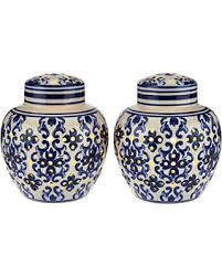 what are ginger jars save your pennies deals on set of 2 illuminated porcelain ginger
