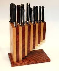 knifes unusual kitchen knife blocks designer knife block set