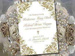 catholic wedding program cover the 25 best catholic wedding programs ideas on