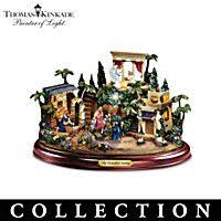 kinkade magnificent blessings nativity collection