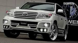 toyota japan toyota new land cruiser 200 bodykit u0026exhaustsystem by rowen japan