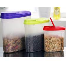 pink kitchen canister set cereal storage container