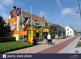Small Town Adinkerke Is A Small Town In Western Belgium Where British And