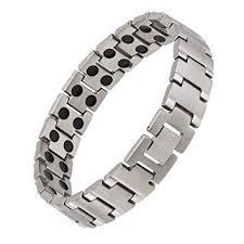 health bracelet titanium images Earth therapy pure titanium magnetic bracelet 3 8 jpg