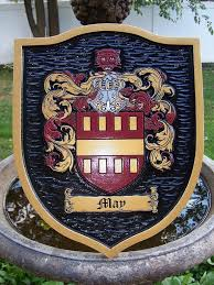 historic family crest coat of arms family shield fc5 the
