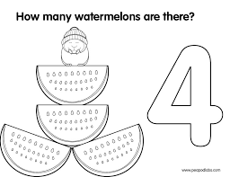 numbers coloring book peapod labspeapod labs
