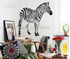 Children S Living Room Furniture by Wall Stickers Zebra Living Room Sofa Tv Bedroom Den