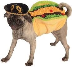 pug halloween costume for baby amazon com rubie u0027s pet costume x large taco taco dog costume