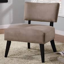light brown accent chair brown microfiber accent chair by coaster 460502