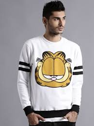 kook n keech garfield white printed sweatshirt at rs 1119 from