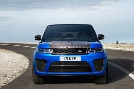 blue range rover new land rover range rover sport 5 0 v8 s c svr 5dr auto petrol